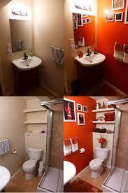 dog faces ceramic bathroom accessories shabby chic: orange bathroom before after bdcbbbbaeec orange bathroom before after