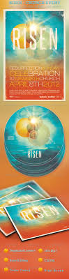 risen church event flyer and cd template by loswl graphicriver risen church event flyer and cd template church flyers