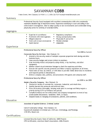 security officer resume examples and samples professional security security officer resume examples and samples professional security officer emergency services emphasis savannah