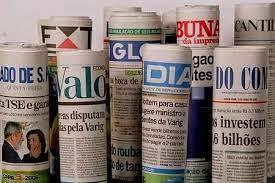 Resultado de imagem para manchetes dos jornais