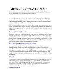 medical assistant student resume medical assistant student resume medical assistant student resume medical assistant student resume regarding medical assistant resume no experience