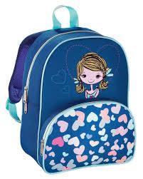 Купить Рюкзак детский <b>Hama LOVELY GIRL синий</b>/голубой в ...