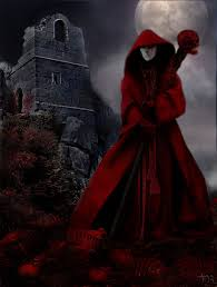 the masque of the red death stained glass the o masque of the red death by ~dragon bat but the mummer had