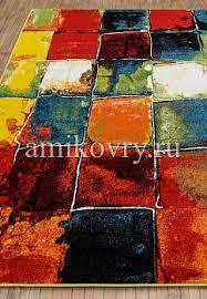 Недорогой синтетический <b>ковер Crystal</b> Merinos <b>2739</b>-Multicolor ...