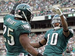 LeSean McCoy and DeSean Jackson