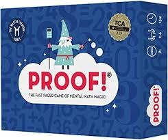 Proof! Math Game - The Fast Paced Game of Mental ... - Amazon.com
