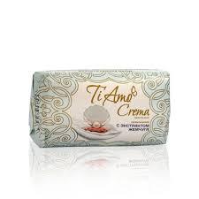Туалетное <b>мыло Ti</b> amo crema <b>косметическое</b> с экстрактом ...