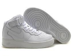 white air force ones mid air force 1 mid