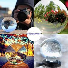 40 100mm Artificial <b>crystal ball</b> Feng Shui ornaments Office/home ...