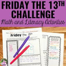 Friday the 13th Activities by Mrs Beattie's Classroom | TpT