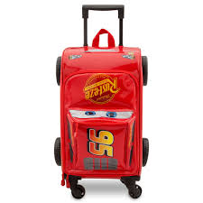 <b>Lightning McQueen</b> Rolling <b>Luggage</b> - <b>Cars</b> 3 | shopDisney