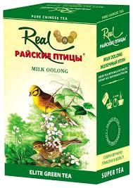 Купить <b>Чай</b> улун <b>Real</b> Райские птицы Milk oolong, 150 г по низкой ...