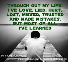 a second chance doesn t mean anything if you haven t learned from through out my life i ve learned