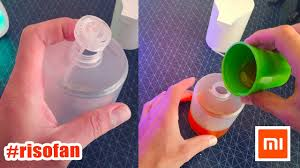 How to refill <b>Xiaomi soap dispenser</b> RisoFan - YouTube