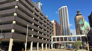 the city of minneapolis may raze the 1300 stall city owned parking ramp at build a office