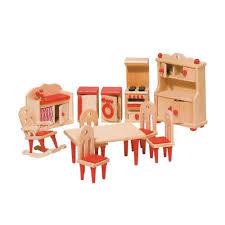 Mobili Per La Casa Delle Bambole : Goki mobili per casa delle bambole cucina pezzi