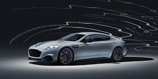 Первый <b>электромобиль Aston</b> Martin показан в Шанхае