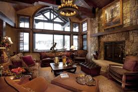 Rustic Cabin Bedroom Decorating Living Room Rustic Country Decorating Ideas Storage Transitional