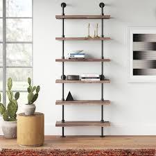 Modern & Contemporary <b>Wall Ladder Shelf</b> | AllModern