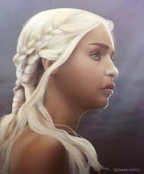 Mother of Dragons by Susana-Santos - got_daenerys_targaryen_by_susana_santos-d7c01x1
