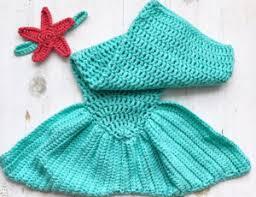 Free <b>Mermaid Tail</b> for <b>Baby Crochet</b> Pattern | <b>Baby Mermaid Tail</b>