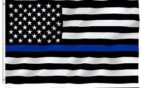 <b>Blue Line usa Police</b> Flags, 90*150cm Thin Blue Line USA Flag ...