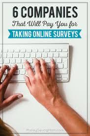 companies that will pay you for taking online surveys money 6companiesthatwillpayyoufortakingonlinesurveys pinnable