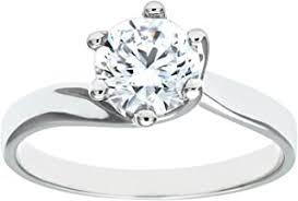 Cubic Zirconia - Rings / Women: Jewellery - Amazon.co.uk