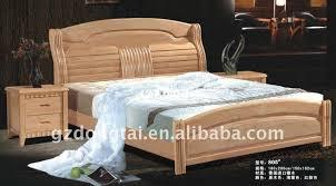 solid rubber wood furniture home bed az805 bed wood furniture