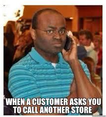 black man on phone meme - WeKnowMemes Generator via Relatably.com