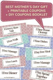 the pretty city girl best mother s day gift printable best mother s day gift printable coupons diy coupons booklet