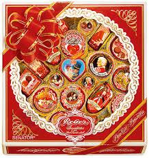 Reber <b>Mozart</b> Senator 830г подарочный <b>набор шоколадных конфет</b>