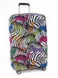 <b>Чехол для чемодана</b> RATEL Neoprene размер M Animal Zebras ...