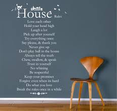 wall stickers house house rules wall art stickers  house rules wall art stickers