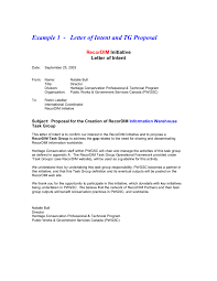letter of intent letter of intent sample letter of intent examples 03