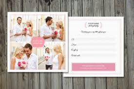 elegant gift certificate photos graphics fonts themes photographer gift certificate v01