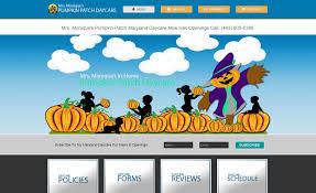 pumpkin patch daycare website annapolis maryland pumpkin patch daycare website maryland web design service by ivy enterprise llc 1