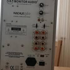 <b>Активный Сабвуфер Monitor</b> Audio Radius 360 – купить в Москве ...