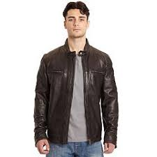<b>Men's Black Leather</b> Jackets | Kohl's