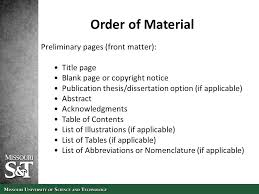 Thesis and Dissertation Formatting by Office of Graduate Studies     SlidePlayer