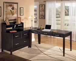 large size of desk elegant l shaped black wooden black office desk plus bookshelves desk amazing furniture modern beige wooden office