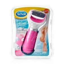 <b>Электрическая пилка Scholl Velvet</b> Smooth роликовая для стоп Pink