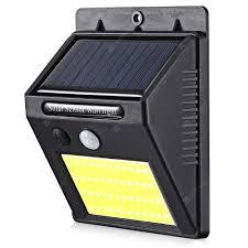 48 COB LED <b>Solar</b> Power Light Human <b>Infrared</b> PIR Motion Sensor ...