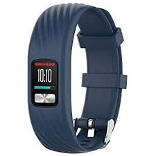 Compatible for Garmin Vivofit 4 <b>Band</b>, <b>Newest Silicone Replacement</b> ...