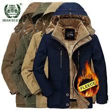 2018 <b>Winter thicken warm</b> men black blue hooded jacket man ...