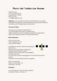 resume for lab technician resume for lab technician 5501