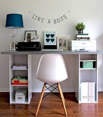 cover desk small spaces home office design with white white wooden desk and chairs with fabric cover desk