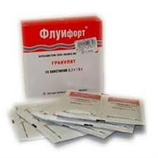 <b>Флуифорт гранулят 2</b>,<b>7</b> г/5 г n10 пакет цена 405 руб в Москве ...