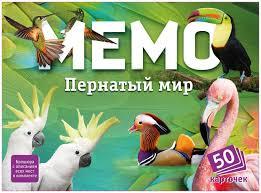Купить <b>настольная игра Нескучные Игры</b> Мемо Пернатый мир ...