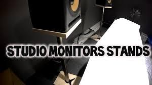 Как сделать <b>стойки</b> под студийные <b>мониторы</b> - YouTube
